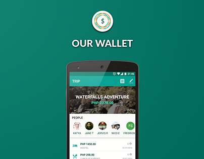 Our Wallet - Android UI/UX