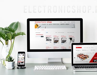 Website Electronicshop