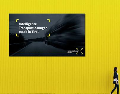 Billboard and Instagram Ad Designs: Spedination