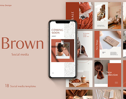 Brown sugar - Instagram Templates