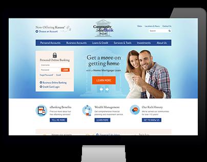 Community First Bank | Website