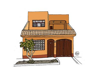 Dibujando mi barrio: Perú