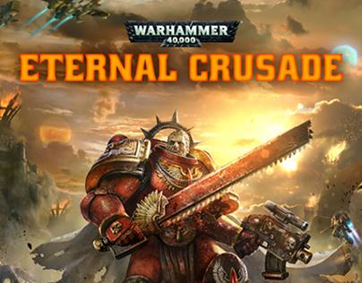 Warhammer 40K Eternal Crusade - Lead UI Design