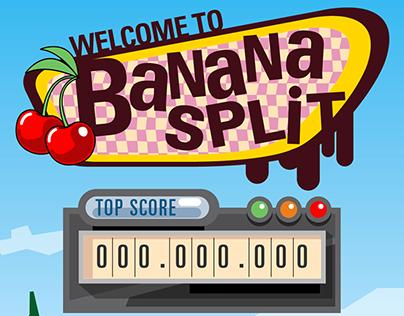 Banana Split / diseño UI/UX mobile game