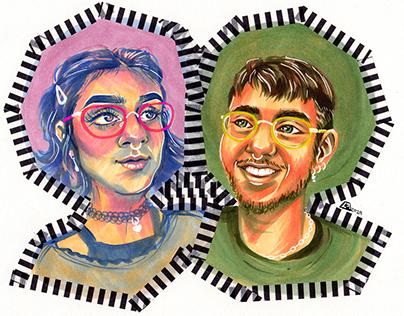 Portrait Commissions - Collection
