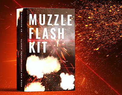 Real Muzzle Flash Kit for After Effects