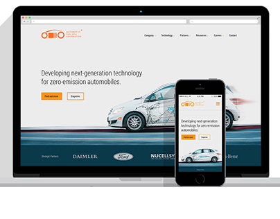 Automated Fuel Cell Corp - Website Design