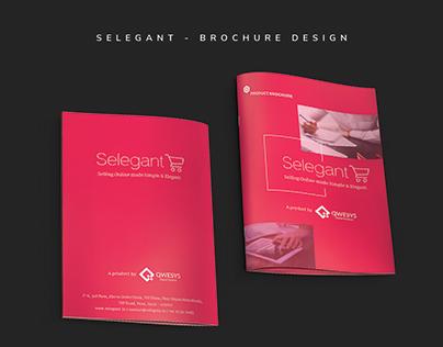 Selegant Brochure - UX | UI design
