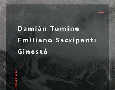 Flyer digital para cantautores (IV)