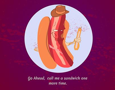 Is hot dog a sandwich?
