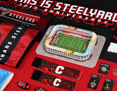 POHANG STEELERS 2020 MERCHANDISE DESIGN