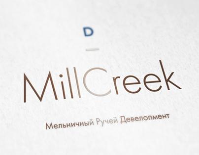 Logotype for Mill Creek golf resort