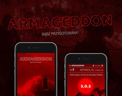 Armaggedon app & device