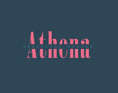 Athena   3D Character Design
