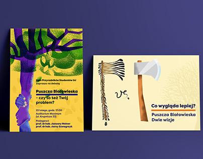 Białowieża Forest - debate posters