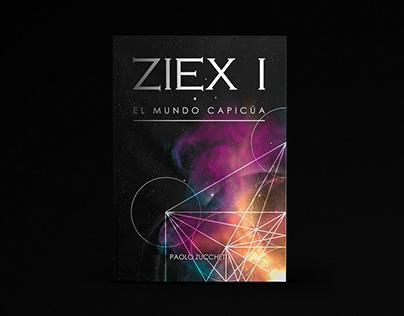 ZIEX I - Ilustración y diseño de portada
