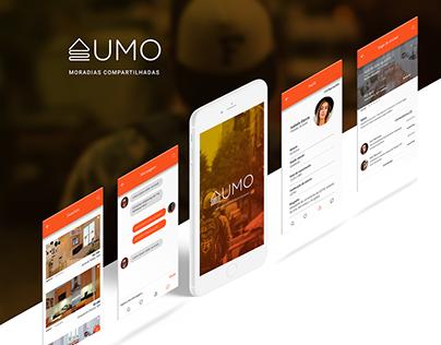 UMO - Moradias Compartilhadas - UI/UX