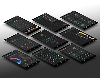 Total Home Control Mobile Android UI