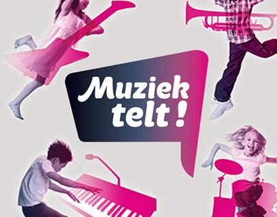 Branding - 'Muziek telt!'