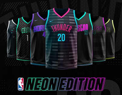 NBA Jerseys - Neon Edition