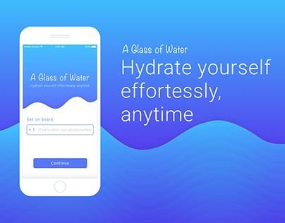 A Glass of Water - mobile app for water delivery
