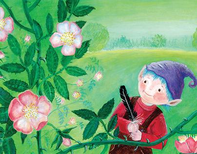 August the Dwarf and his secret Garden