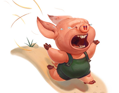 Pigglet on the run