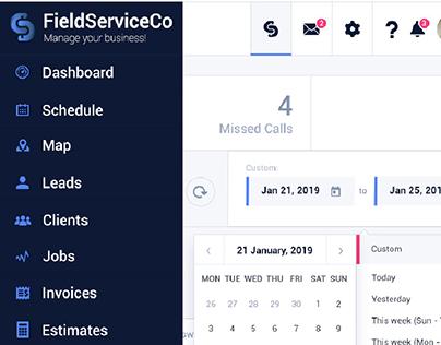 Админ-панель FieldServiceCo. Manage your business!