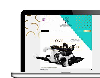 Beasts of Fashion 2015 - Web Design