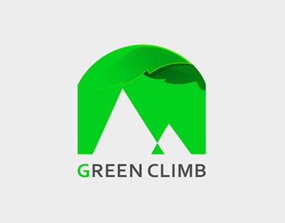 climbing/Plogging logo design