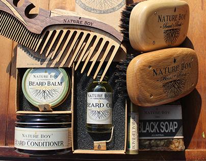 Nature Boy Grooming Products Branding & Website