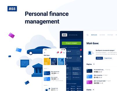 Personal finance management UX / UI