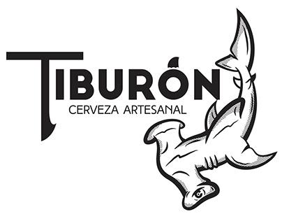 Diseño de etiquetas para Cerveza Tiburón 2016-2020