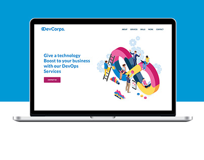 DevCorps - Branding, Website & Digital Mark Campaigns