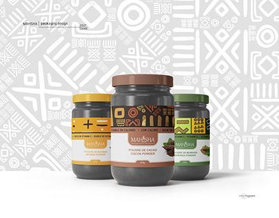 Mahsha packaging design
