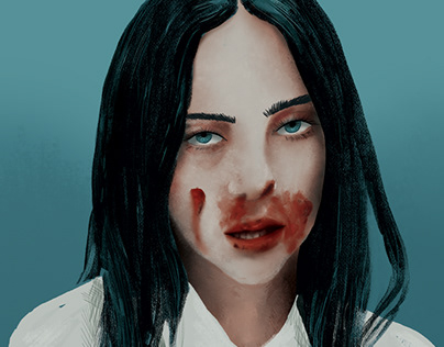 Billie Eilish Portrait