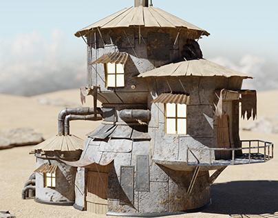 Scrap Hause / Game asset design
