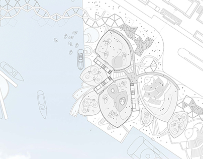Helsinki harbour competition. 2012. Honorable mention.