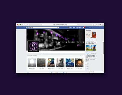 G Square Social Media Redesign