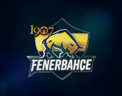 Fenerbahçe Esport Team's Logo Animation