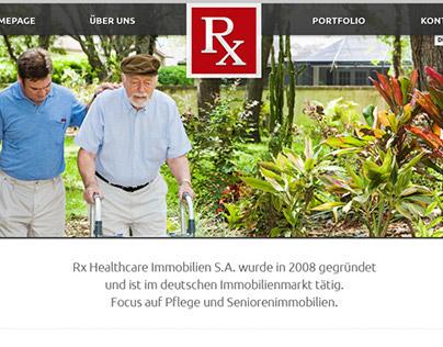 Webdesign : RX Healthcare