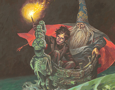 Harry Potter and the Half-Blood Prince - Swedish Cover