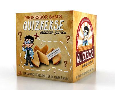 """Produkt Design """"Quizkekse"""" (2019)"""