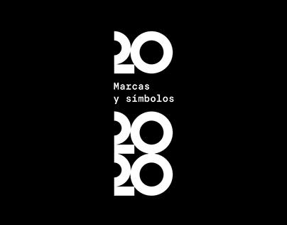 20 marcas y símbolos 2020