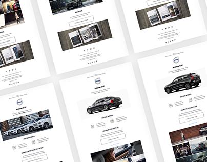 Web & UX UI design VolvoCars