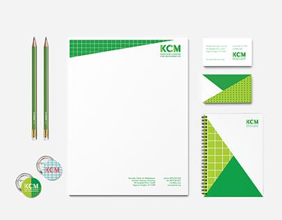 KCM Kentucky Center for Mathematics Branding