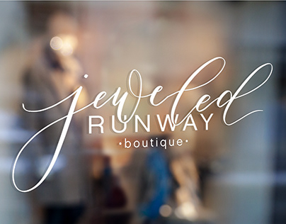 Jeweled Runway Boutique Branding and Web Design