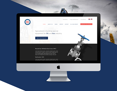 Oil company website