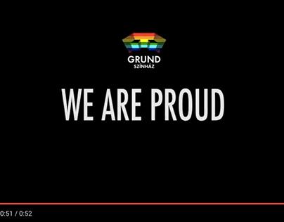 Grund Theatre's film for Budapest Pride