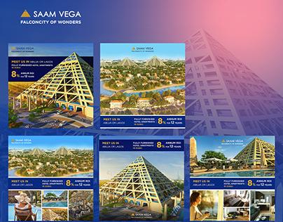 SAAM Vega Falcon City :: Lead Generation Campaign